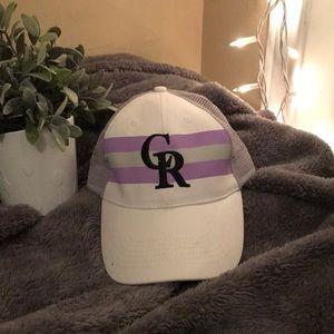 Colorado Rockies baseball hat